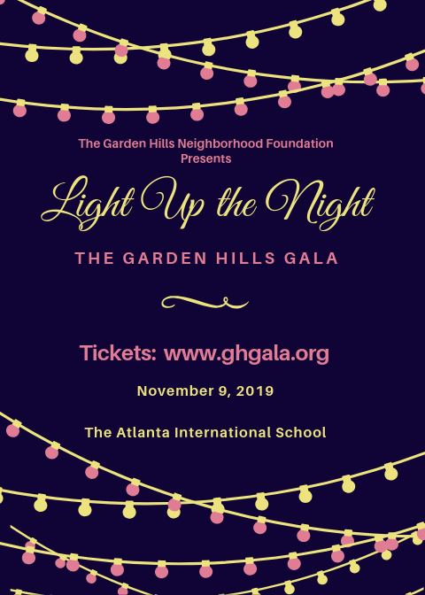 Light Up the Night - Garden Hills Gala 2019